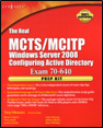 MCTS/MCITP 70-640 Book